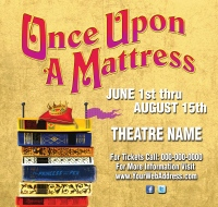 once upon a mattress broadway poster. media rights. *currently rights for once upon a mattress broadway poster r