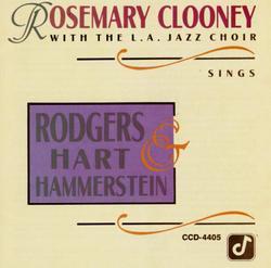 SINGS RODGERS, HART & HAMMERSTEIN