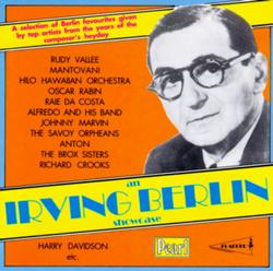An Irving Berlin Showcase