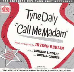 CALL ME MADAM [1999 ENCORES! CAST RECORDING]