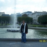 The Central Fountain in Mirabell Gardens