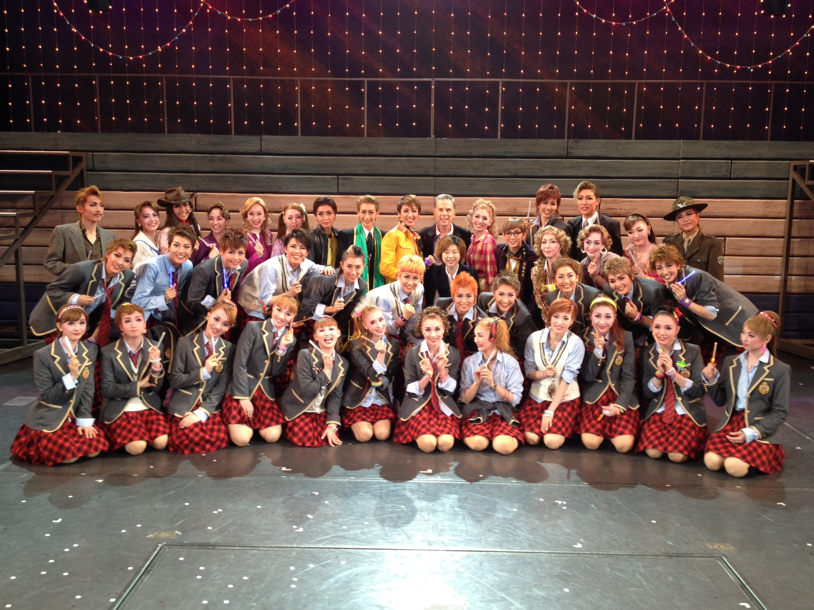 Takarazuka FOOTLOOSE cast