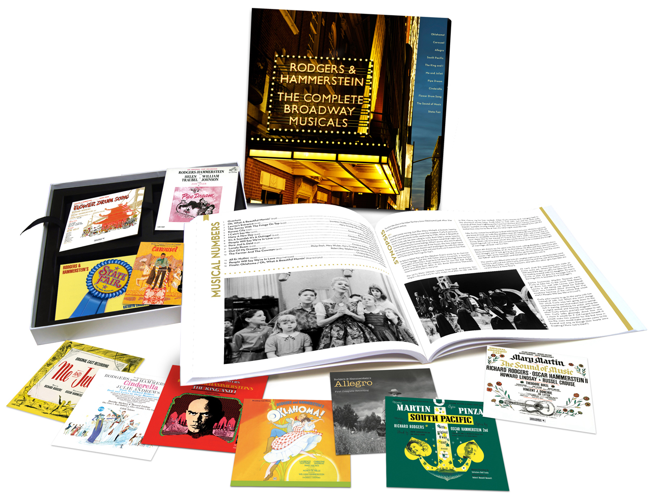 rodgers & hammerstein: the complete broadway musicals box set