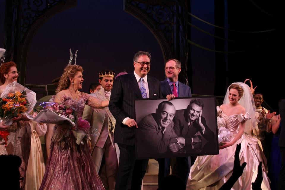 Rodgers and Hammerstein take a bow on opening night 2013, Photo Credit Walter McBride