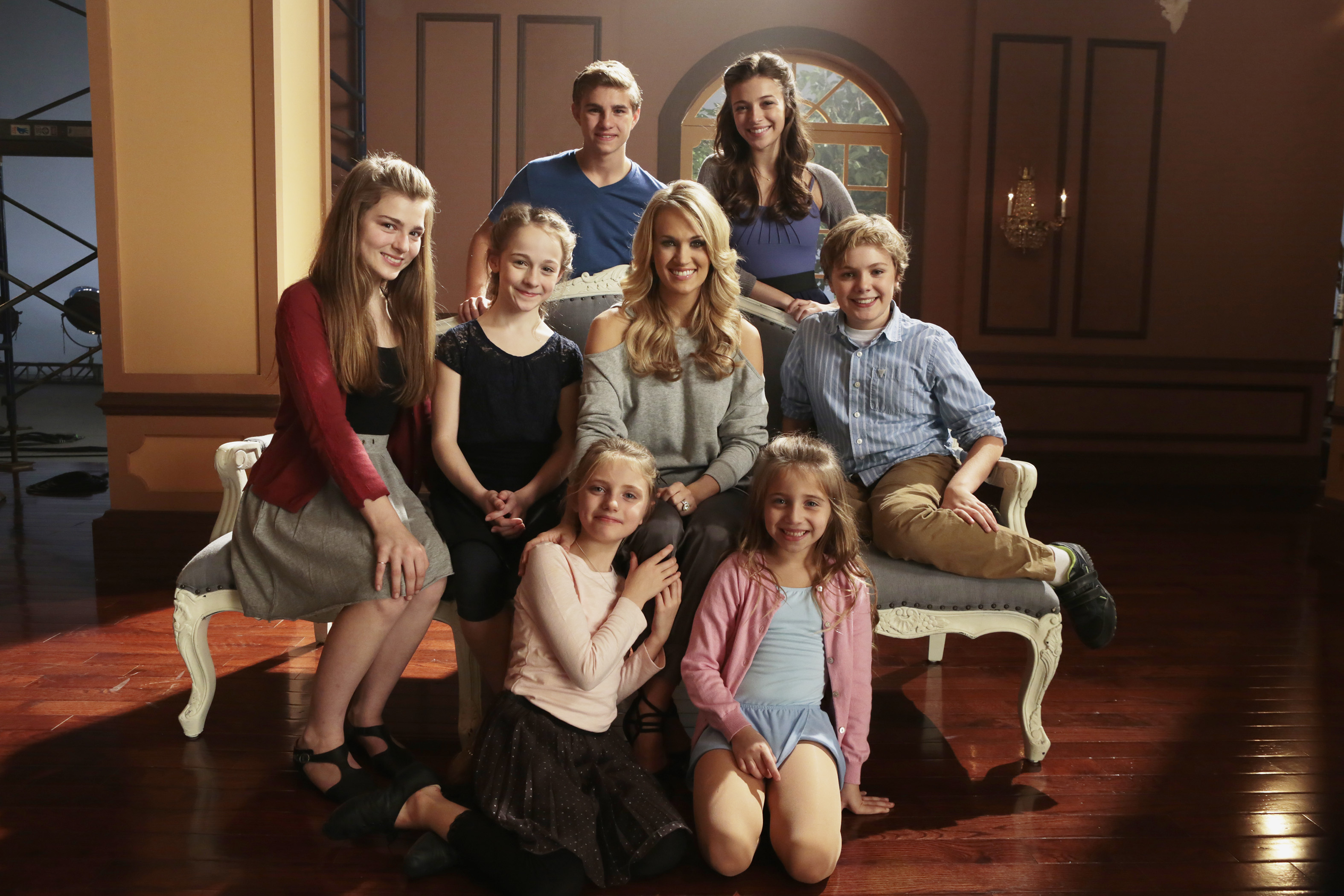 Carrie Underwood and the von Trapp Kids