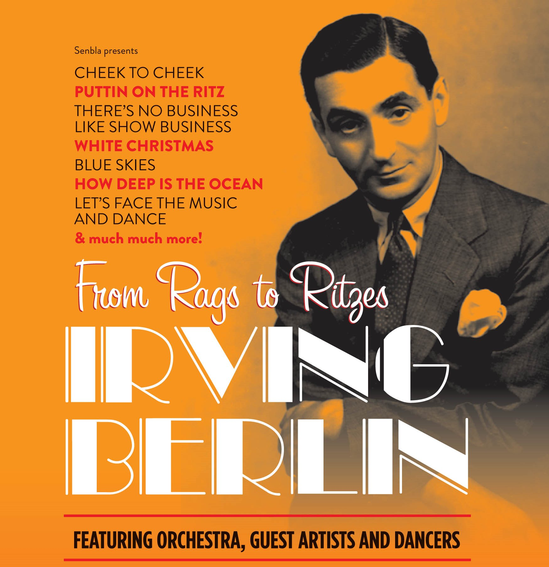 Irving Berlin - From Rags to Ritzes :: Rodgers & Hammerstein :: News
