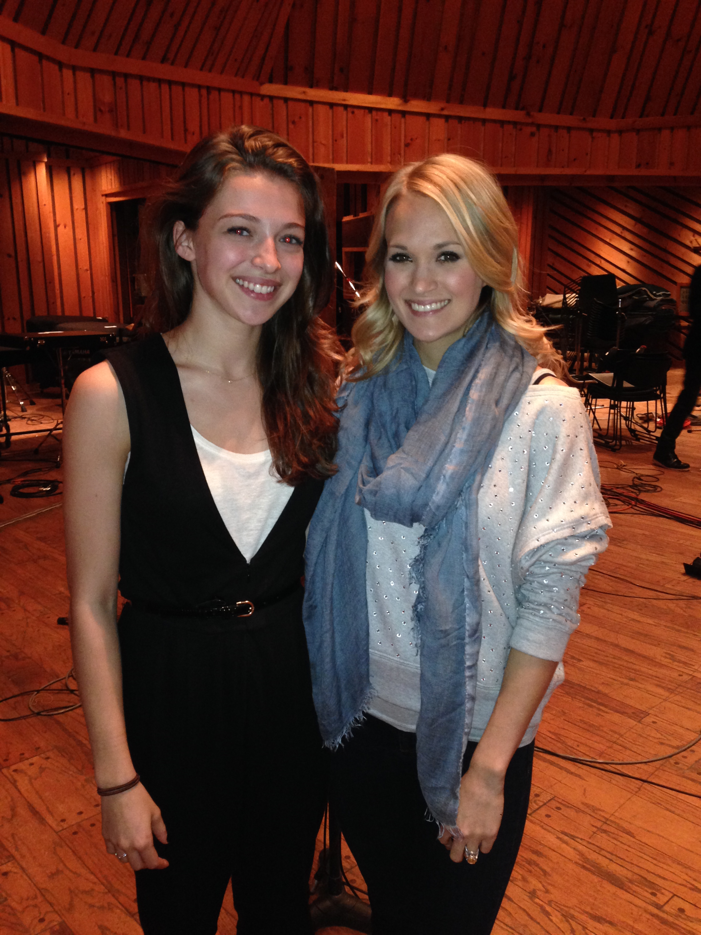 Ariane Rinehart and Carrie Underwood