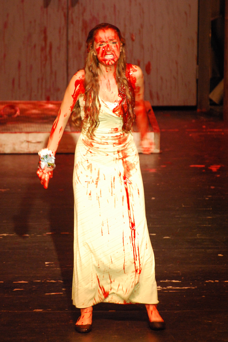 CARRIE the musical at North Farmington High School