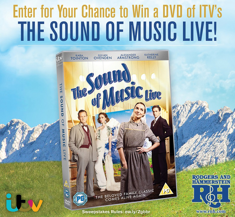 Enter now for your chance to win a dvd of itv 39 s the sound for Enter now to win