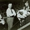 Richard Rodgers with Margo Hopkins, Crane Calder, Salvatore ...