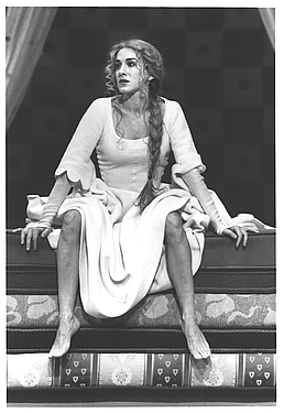 Sarah Jessica Parker in the 1996 revival of Once Upon a Mattress