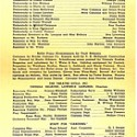 CAROUSEL Program, Fords Theatre 1947