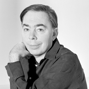 Headshot of Andrew Lloyd Webber