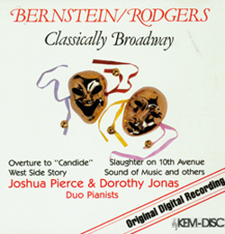 BERNSTEIN/RODGERS CLASSICALLY BROADWAY