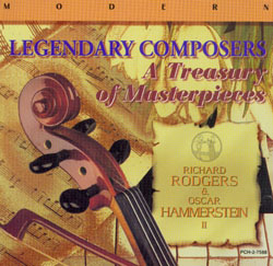 LEGENDARY COMPOSERS A TREASURY OF MASTERPEICES