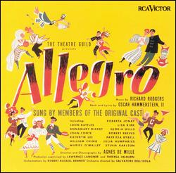 ALLEGRO [1947 ORIGINAL BROADWAY CAST]