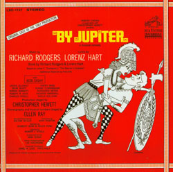 BY JUPITER [1967 ORIGINAL OFF-BROADWAY CAST]