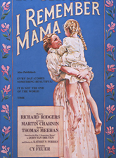 I Remember Mama in Broadway