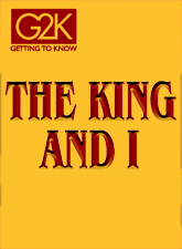 G2K THE KING AND I in Broadway