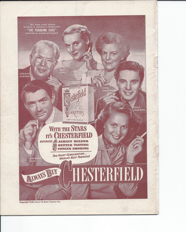 Showboat Stagebill - Chicago Shubert Theater, 3/21/1948 p. 24