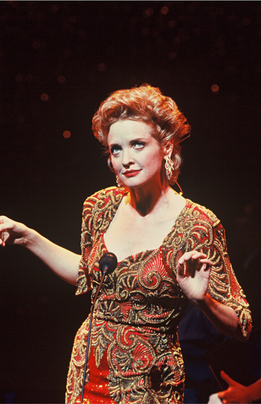 Christine Ebersole as Liza Elliott in LADY IN THE DARK at New York City Center Encores!, 199