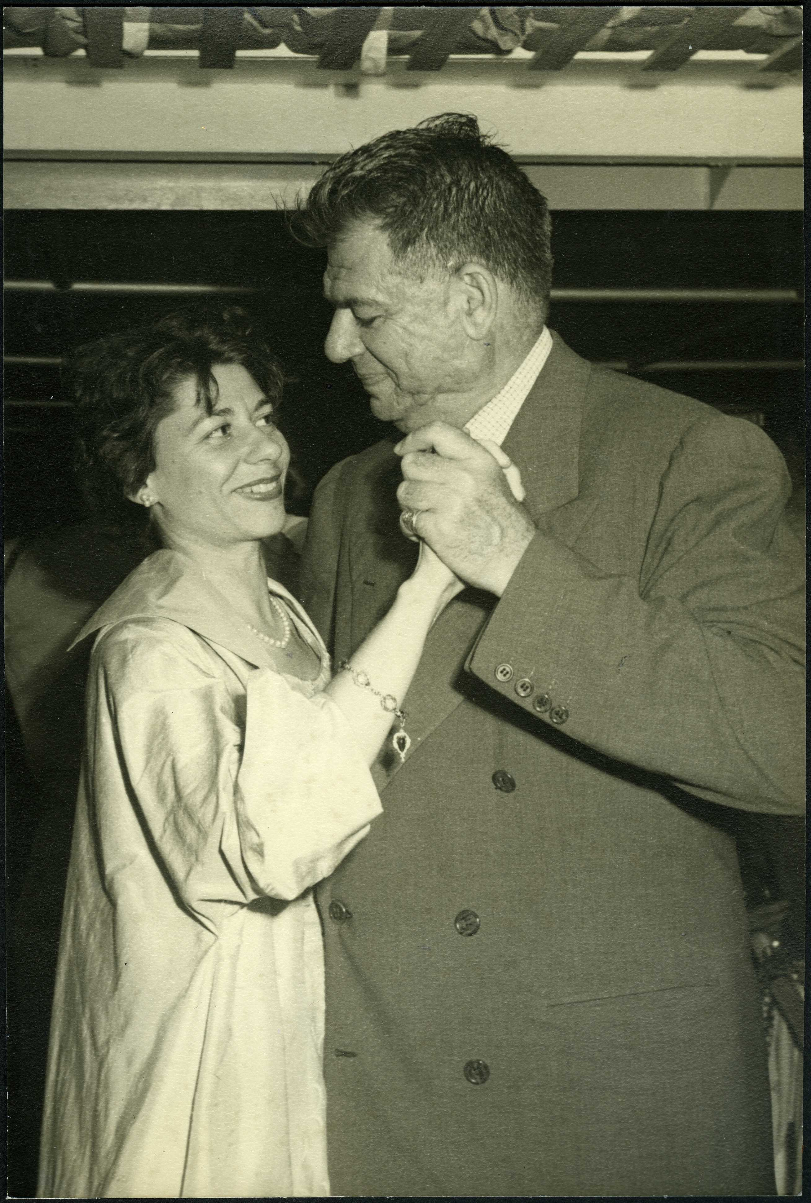 Alice Hammerstein Dancing with her Father, Oscar Hammerstein II