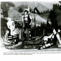 Katherine Carrington, Al Shean, and Walter Slezak in MUSIC IN THE AIR (1932)