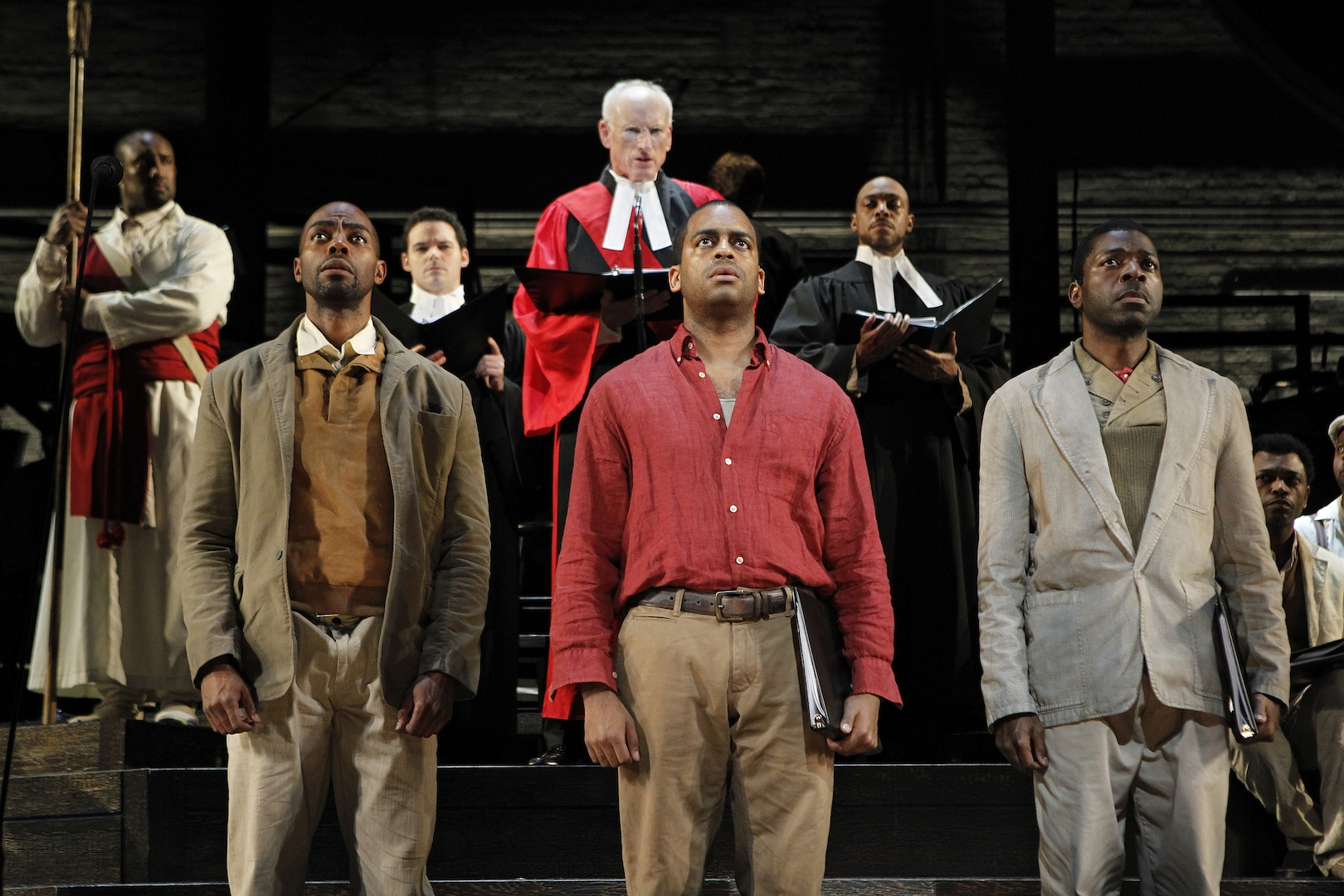 Absalom on Trial: LOST IN THE STARS at New York City Center Encores!, 2011.