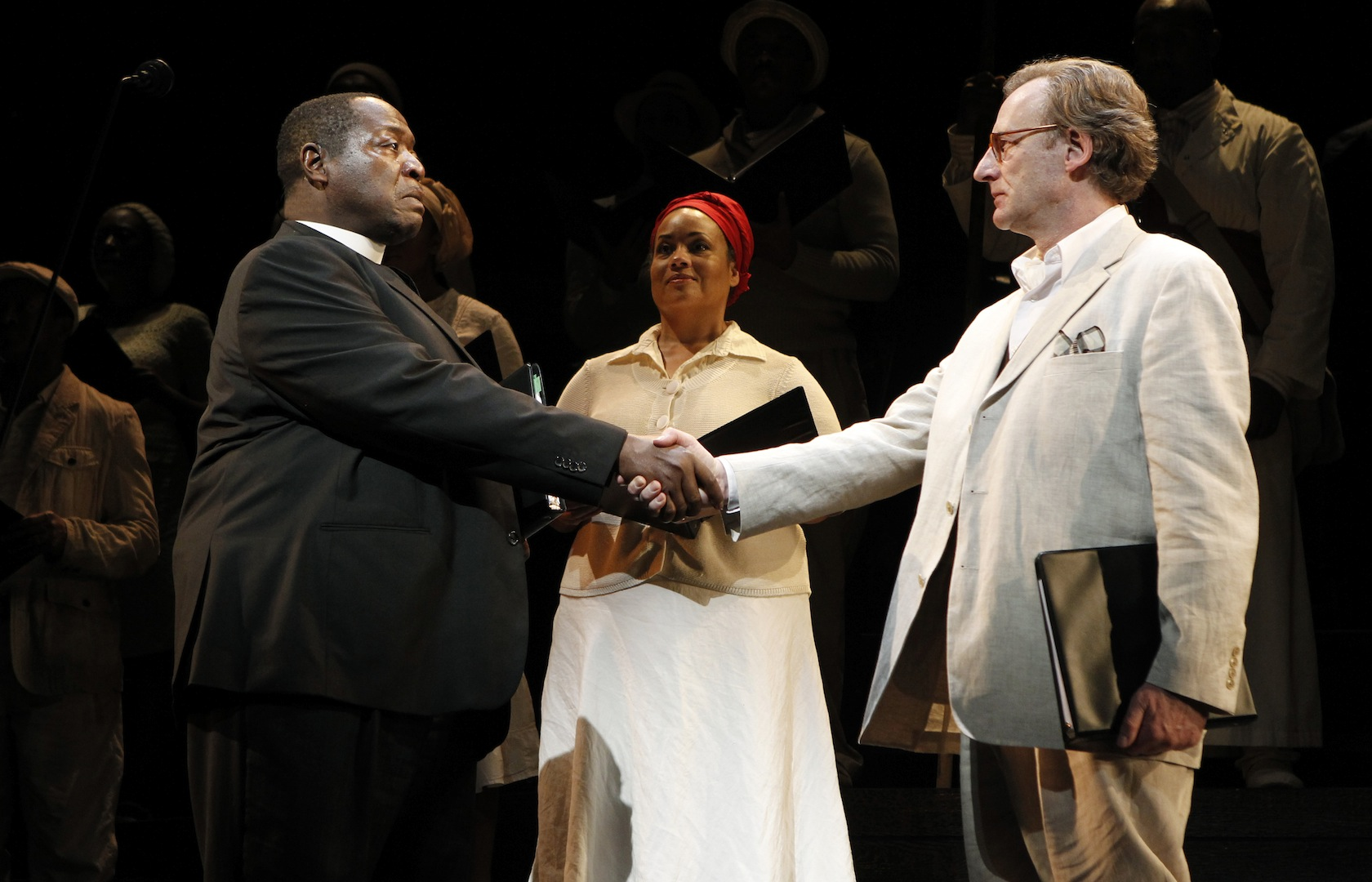 Reconciliation: LOST IN THE STARS at New York City Center Encores!, 2011.
