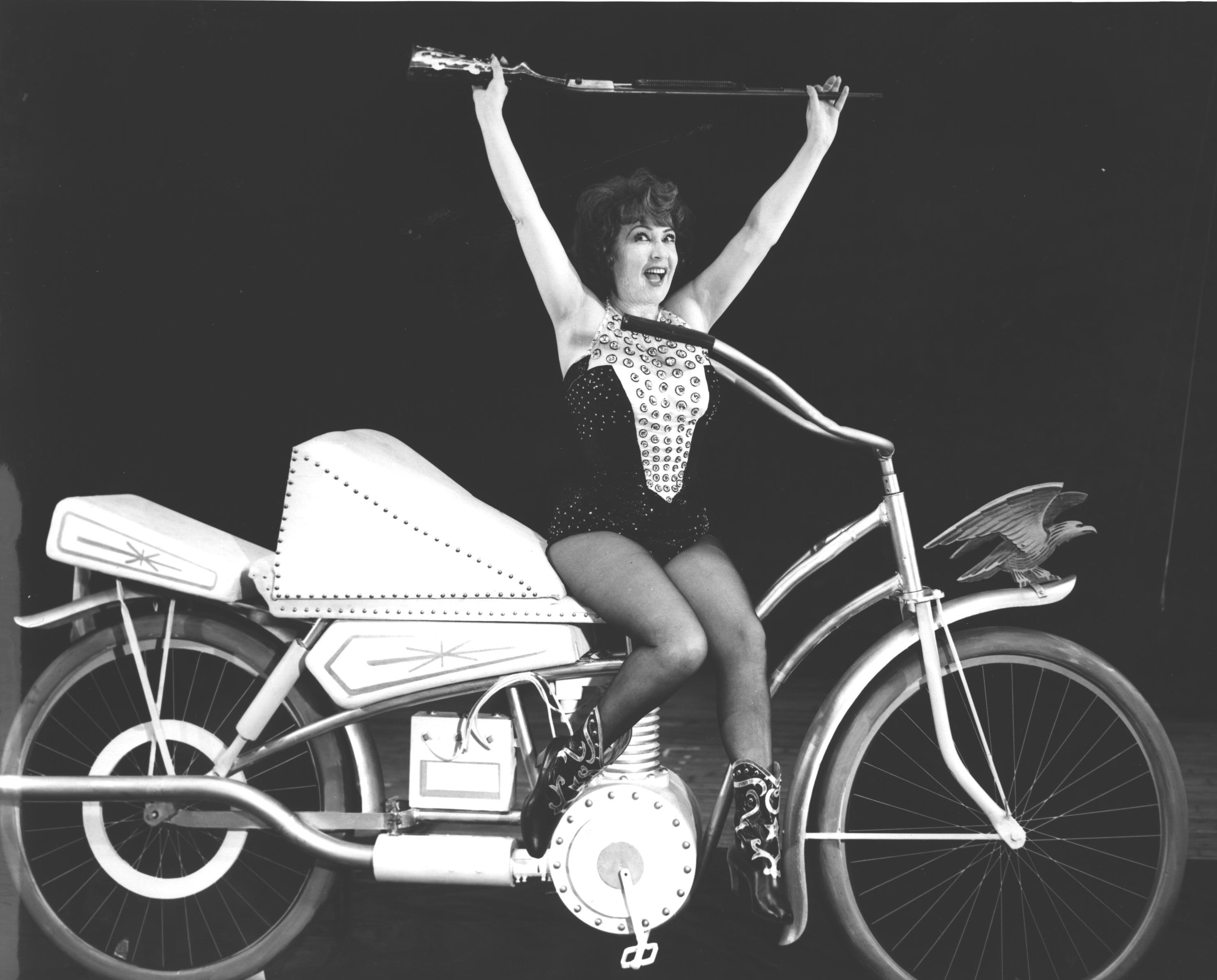 Ethel Merman in the 1966 Revival of ANNIE GET YOUR GUN