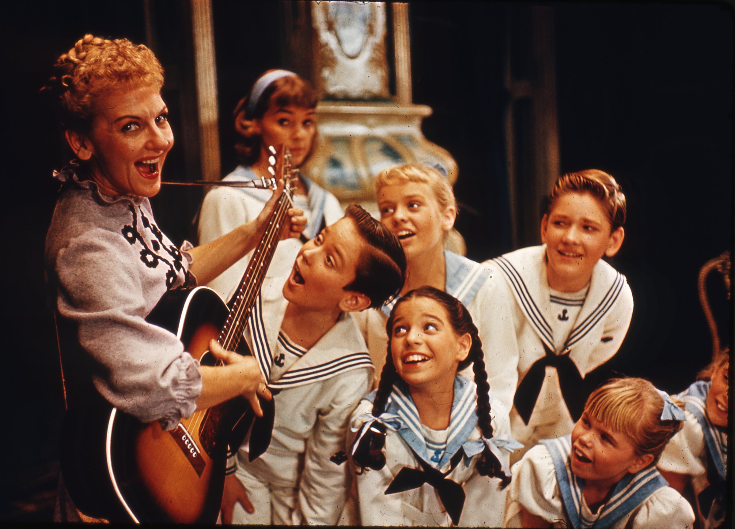 Mary Martin in the Original Broadway production of THE SOUND OF MUSIC
