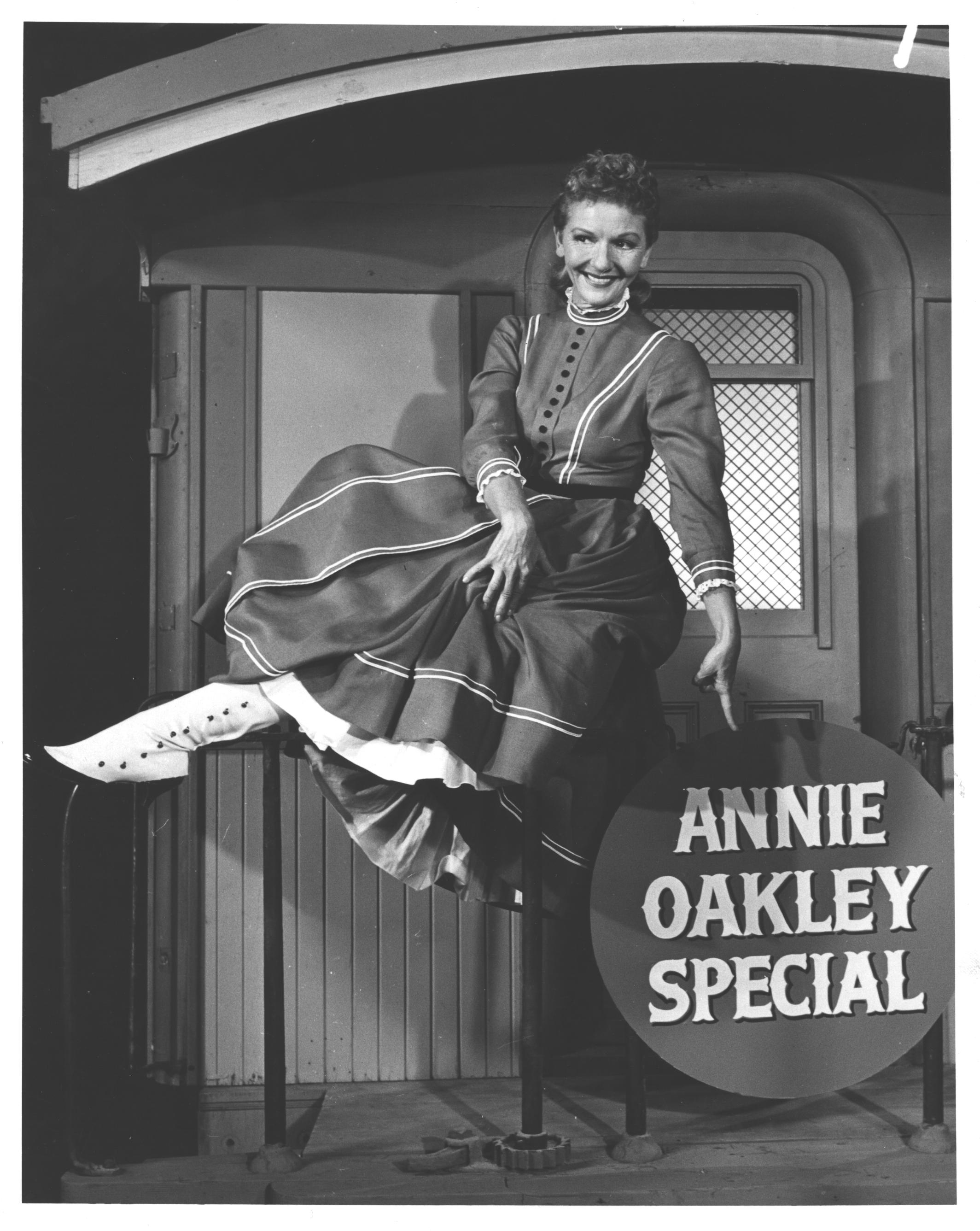 Mary Martin as Annie Oakley in Annie Get Your Gun