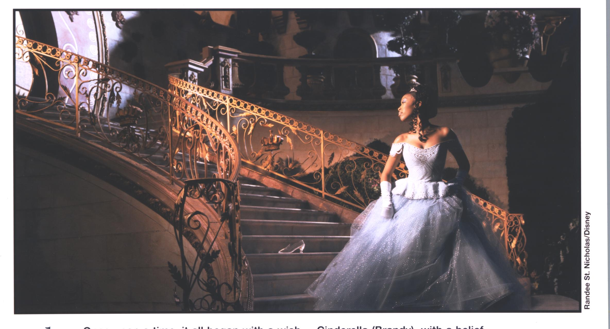 Cinderella - Brandy on stairs