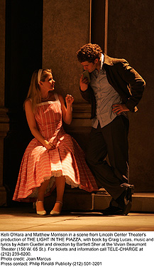 The Light in the Piazza - Kelli O'Hara and Matthew Morrison